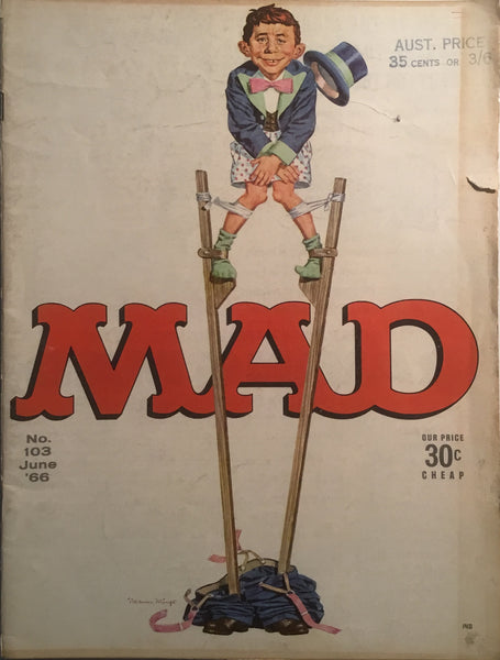 MAD MAGAZINE (USA) #103