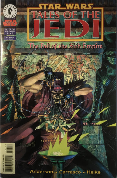 STAR WARS TALES OF THE JEDI : THE FALL OF THE SITH EMPIRE # 1