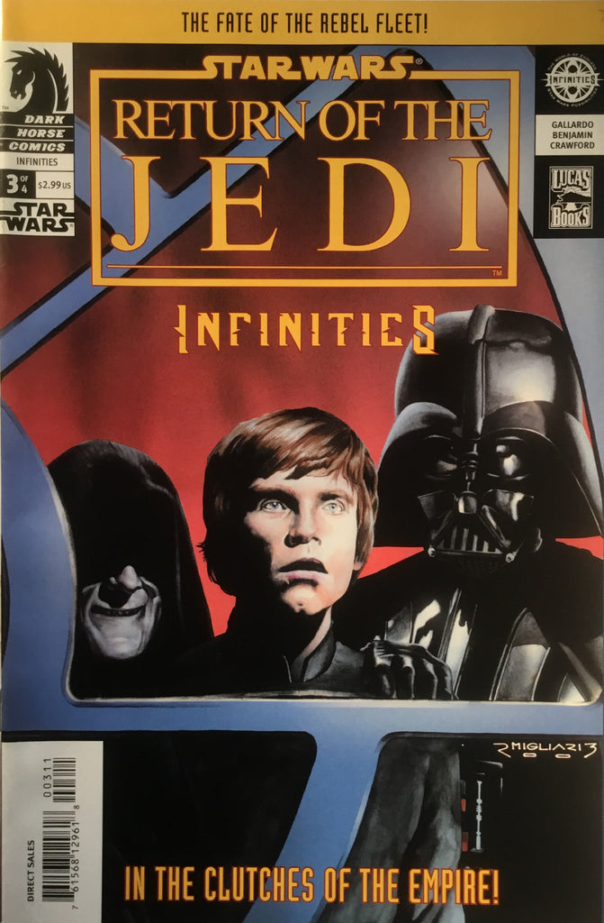 STAR WARS RETURN OF THE JEDI INFINITIES # 3