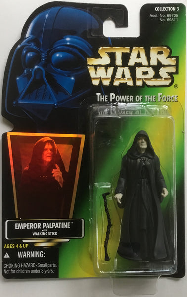 STAR WARS EMPEROR PALPATINE ACTION FIGURE 1996