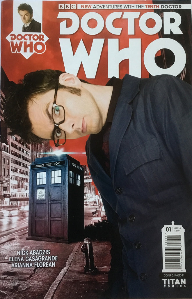 DOCTOR WHO THE 10TH DOCTOR # 1 DAVID TENNANT PHOTO COVER (1:10 VARIANT) - Comics 'R' Us