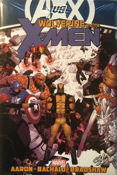 WOLVERINE & THE X-MEN VOL 3 HARDCOVER GRAPHIC NOVEL