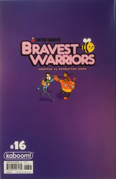BRAVEST WARRIORS #16 (1:15 VARIANT COVER)