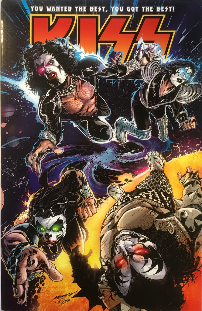 KISS VOL 2 (IDW) GRAPHIC NOVEL