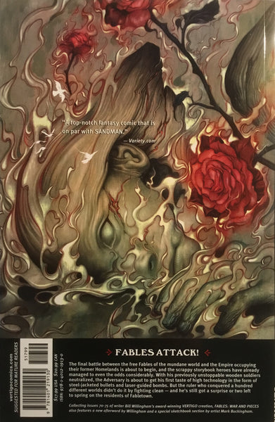 FABLES VOL 11 WAR AND PIECES GRAPHIC NOVEL