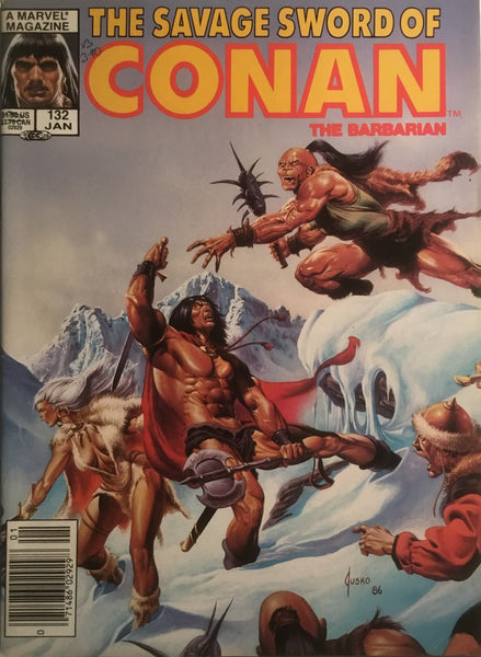 THE SAVAGE SWORD OF CONAN #132
