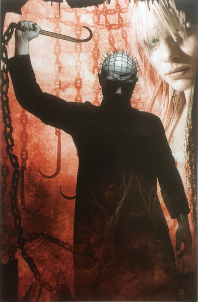 HELLRAISER # 6 BRADSTREET VIRGIN COVER (1:10 VARIANT)