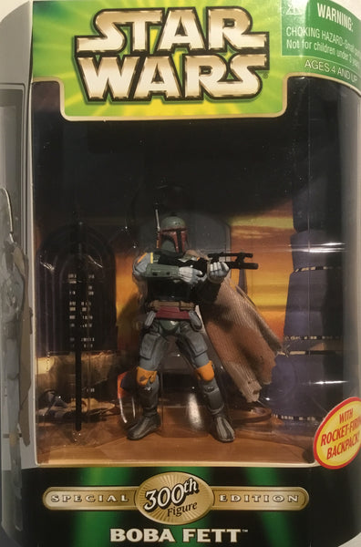 STAR WARS BOBA FETT 300TH FIGURE SPECIAL EDITION