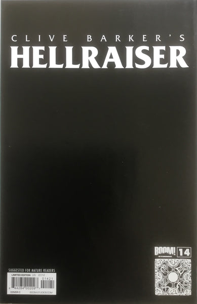 HELLRAISER #14 BRADSTREET VIRGIN COVER (1:10 VARIANT)