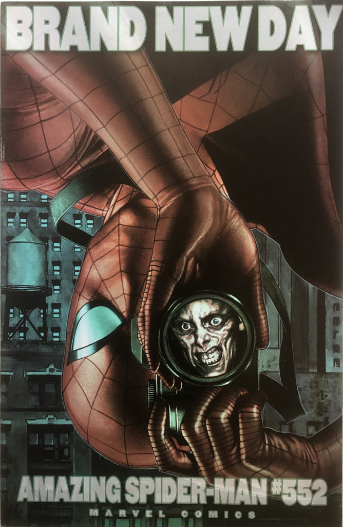 AMAZING SPIDER-MAN (1999-2013) # 552 GRANOV COVER (1:20 VARIANT)