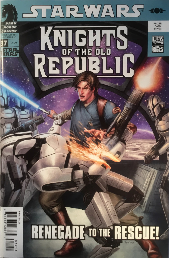 STAR WARS KNIGHTS OF THE OLD REPUBLIC # 37