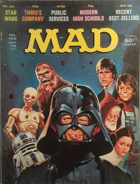 MAD MAGAZINE (USA) #196
