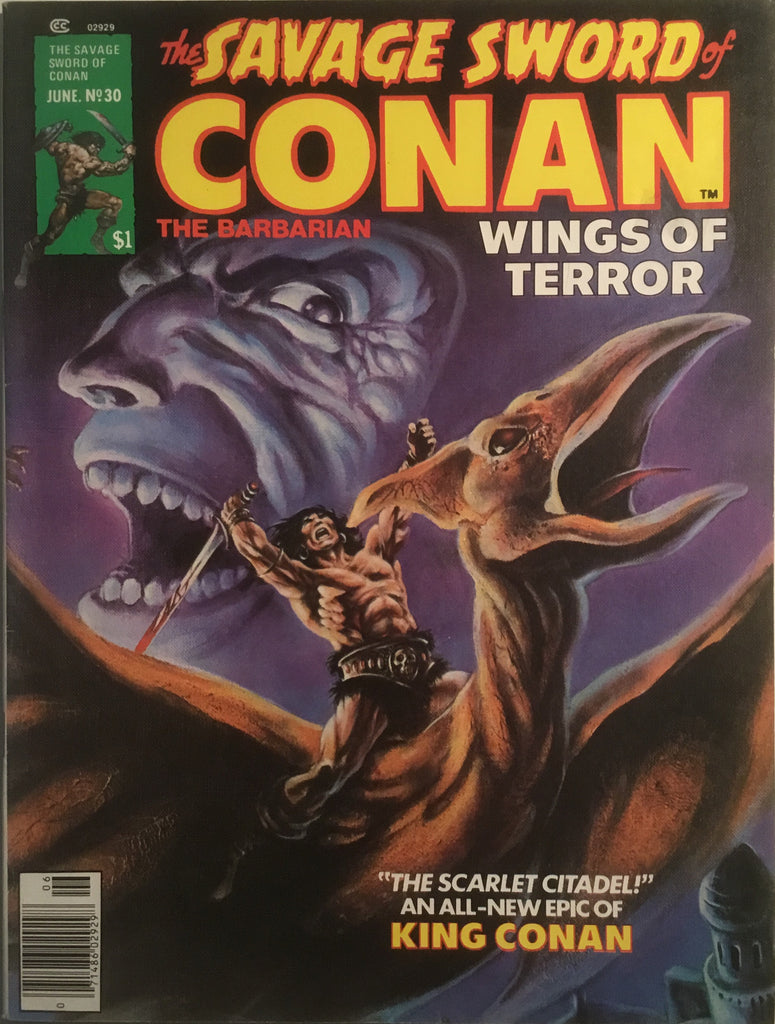 THE SAVAGE SWORD OF CONAN # 30