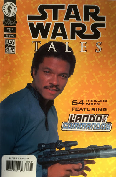 STAR WARS TALES # 5 PHOTO COVER
