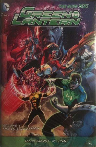 GREEN LANTERN (NEW 52) VOL 6 THE LIFE EQUATION HARDCOVER GRAPHIC NOVEL
