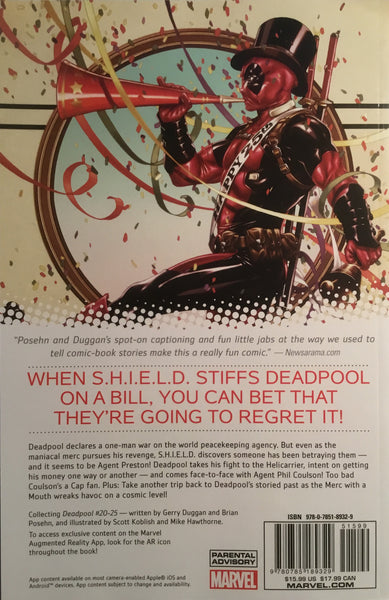 DEADPOOL (MARVEL NOW) VOL 4 DEADPOOL VS SHIELD GRAPHIC NOVEL - Comics 'R' Us
