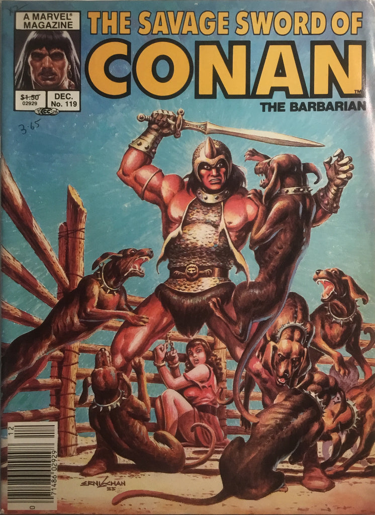 THE SAVAGE SWORD OF CONAN #119