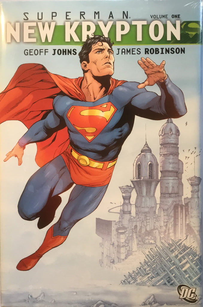 SUPERMAN NEW KRYPTON VOL 1 HARDCOVER GRAPHIC NOVEL