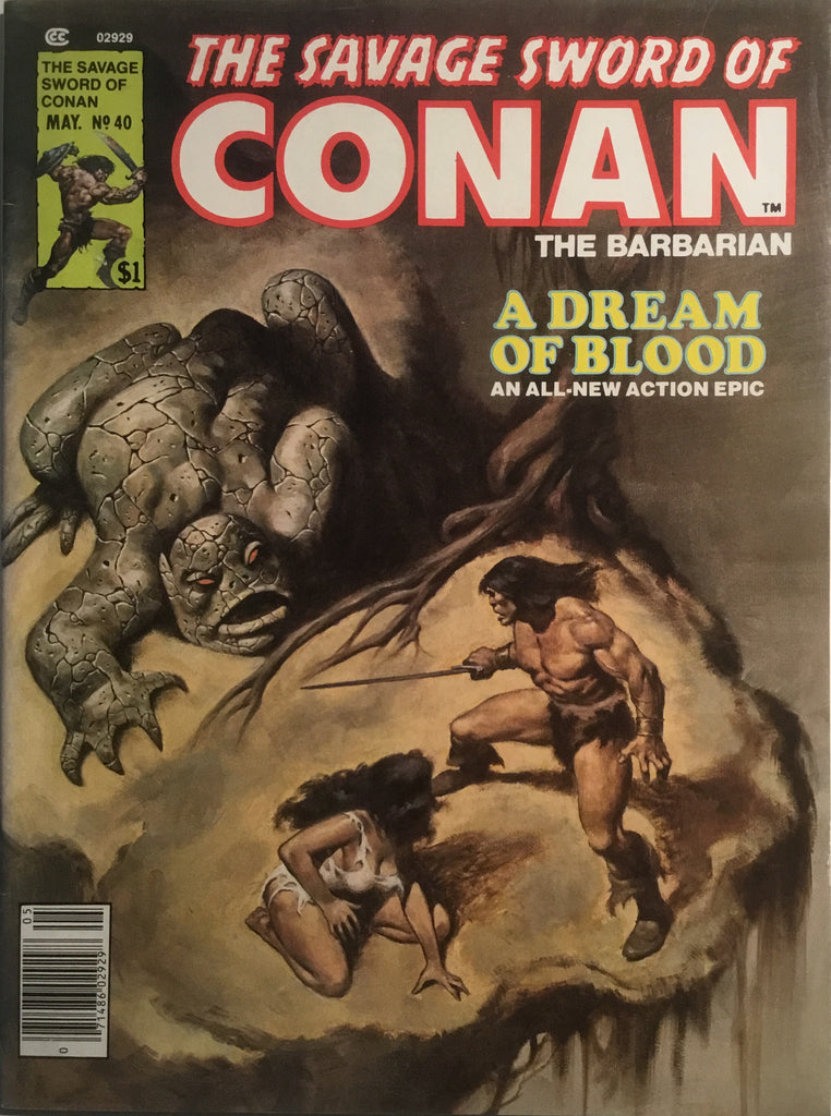 THE SAVAGE SWORD OF CONAN # 40