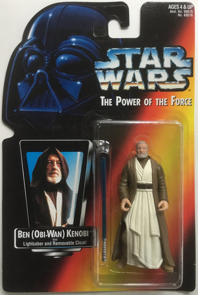 STAR WARS BEN (OBI-WAN) KENOBI ACTION FIGURE 1995