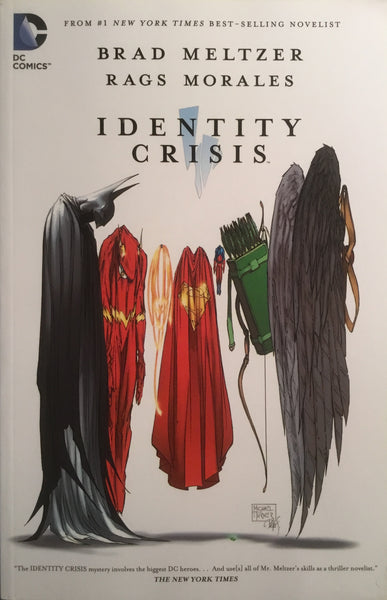IDENTITY CRISIS GRAPHIC NOVEL