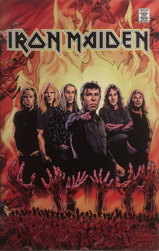 IRON MAIDEN BIOGRAPHICAL COMIC