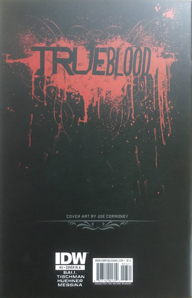 TRUE BLOOD # 3 CORRONEY SKETCH COVER (1:10 VARIANT)