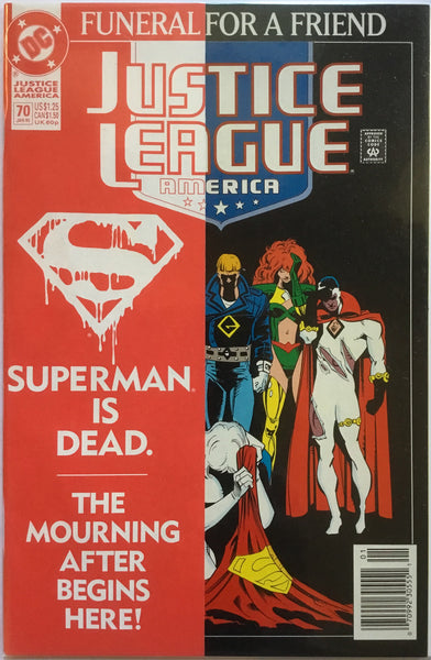 JUSTICE LEAGUE OF AMERICA # 70 (1987 SERIES) - Comics 'R' Us