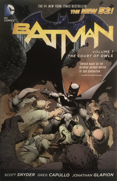 BATMAN (NEW 52) VOL 1 THE COURT OF OWLS GRAPHIC NOVEL - Comics 'R' Us
