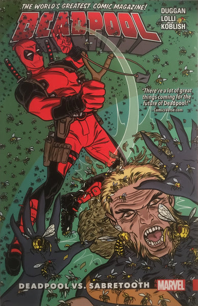 DEADPOOL WORLD'S GREATEST VOL 03 DEADPOOL VS SABRETOOTH GRAPHIC NOVEL
