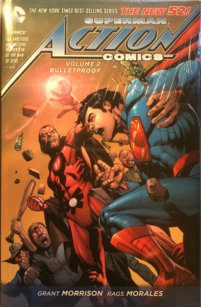 SUPERMAN ACTION COMICS (NEW 52) VOL 2 BULLETPROOF HARDCOVER GRAPHIC NOVEL