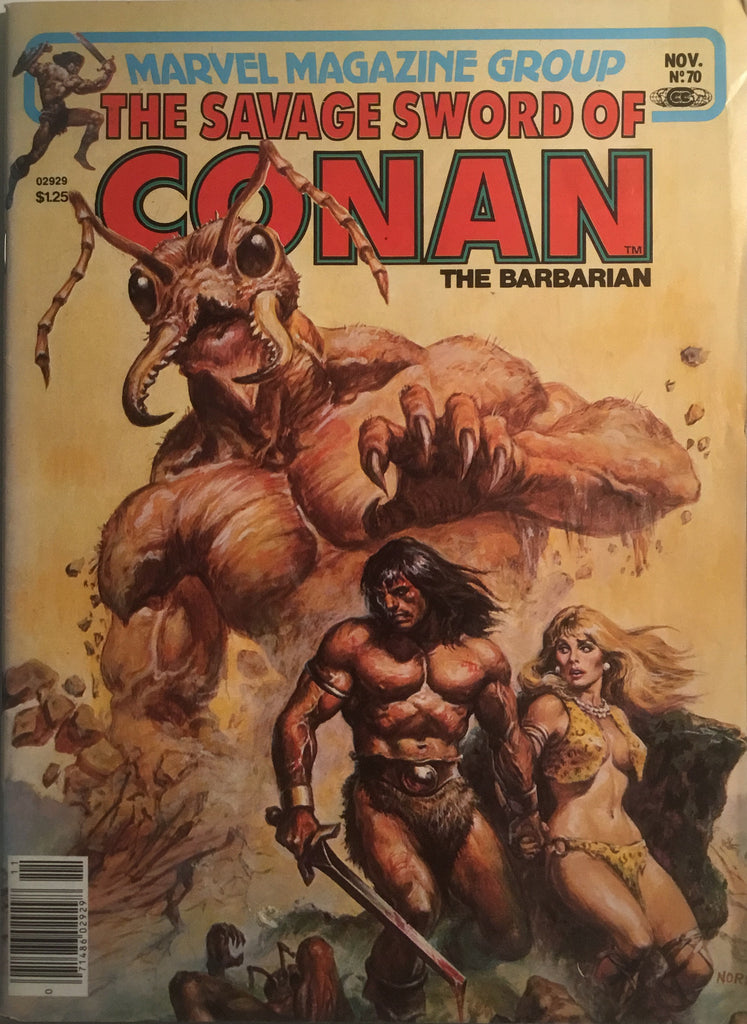 THE SAVAGE SWORD OF CONAN # 70