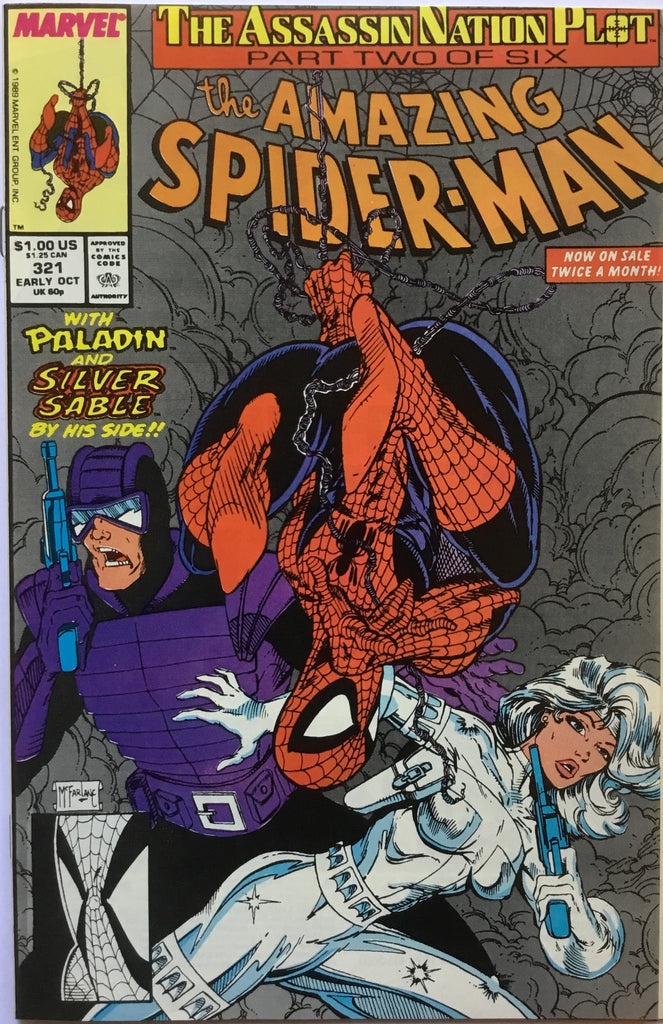 AMAZING SPIDER-MAN # 321 - Comics 'R' Us