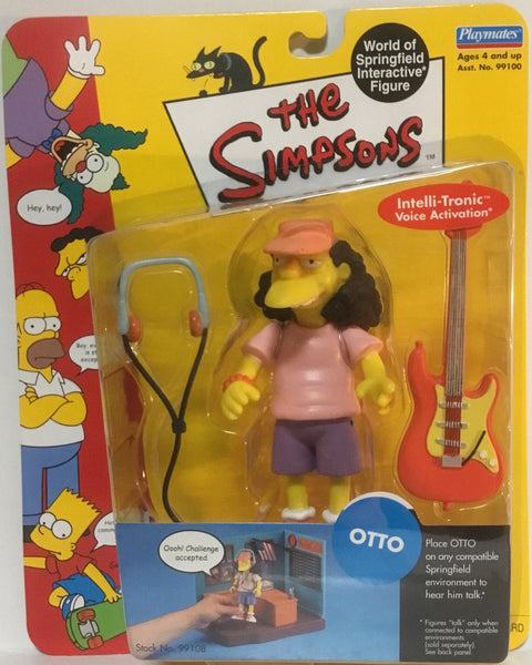 SIMPSONS WORLD OF SPRINGFIELD OTTO INTERACTIVE FIGURE