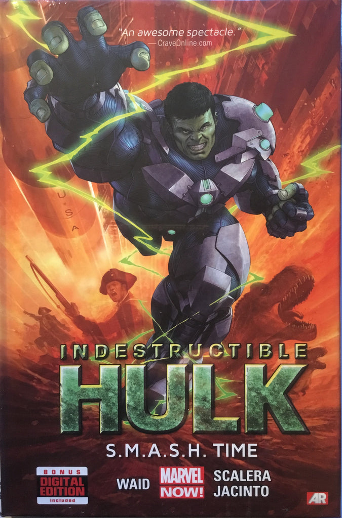 INDESTRUCTIBLE HULK VOL 3 S.M.A.S.H. TIME HARDCOVER GRAPHIC NOVEL - Comics 'R' Us