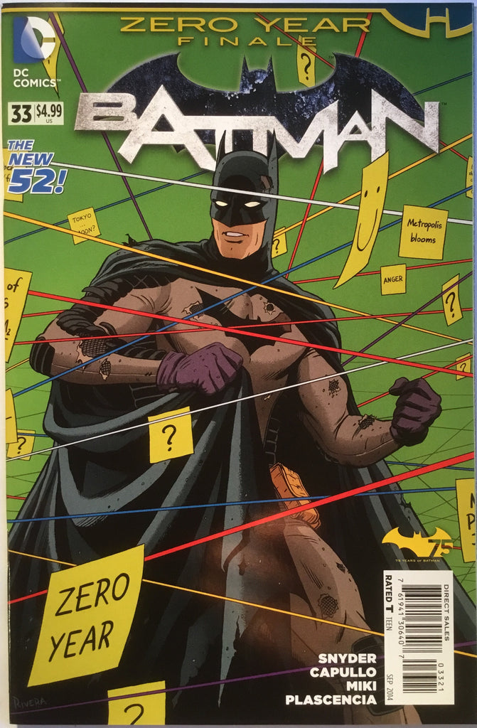 BATMAN #33 (THE NEW 52) RIVERA 1:25 VARIANT - Comics 'R' Us