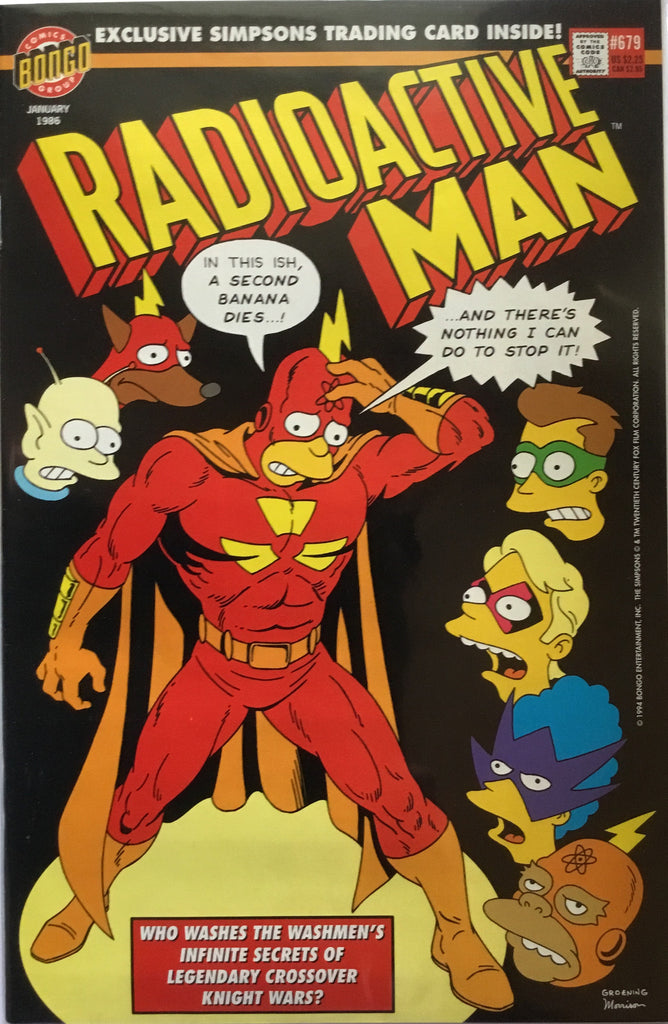 SIMPSONS RADIOACTIVE MAN # 679