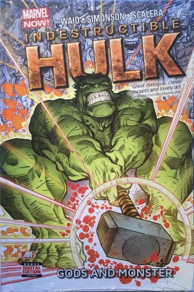 INDESTRUCTIBLE HULK VOL 2 GODS AND MONSTER HARDCOVER GRAPHIC NOVEL - Comics 'R' Us