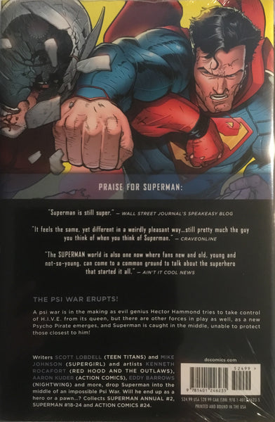 SUPERMAN (NEW 52) VOL 4 PSI WAR HARDCOVER GRAPHIC NOVEL