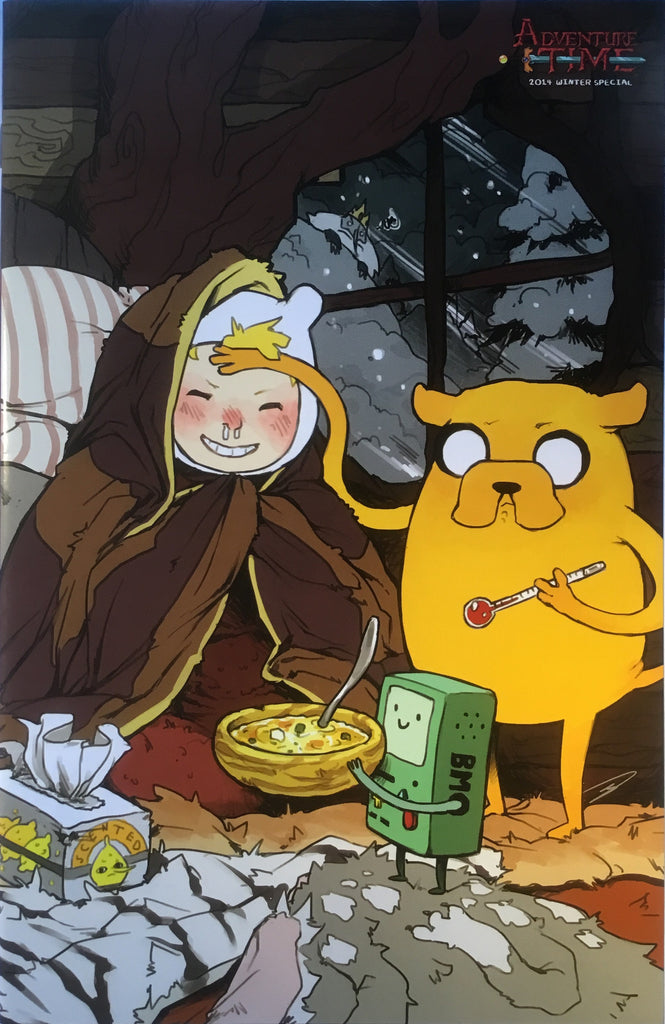 ADVENTURE TIME 2014 WINTER SPECIAL # 1 (1:15 VARIANT COVER) - Comics 'R' Us