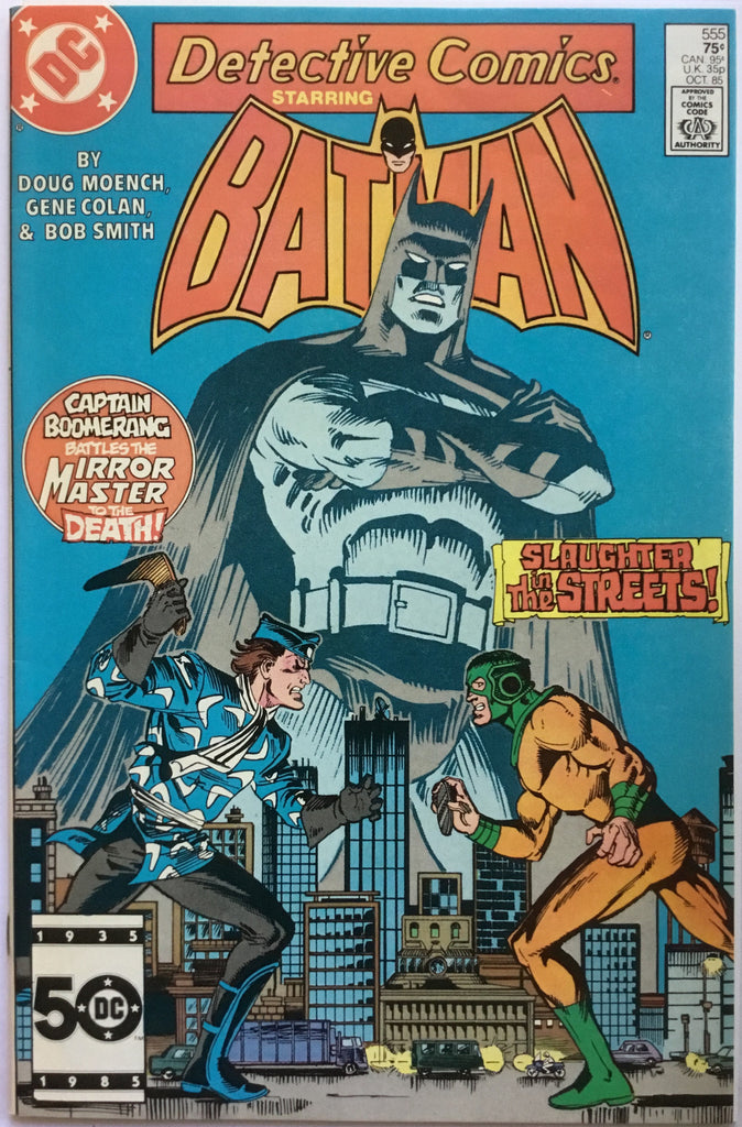 DETECTIVE COMICS starring BATMAN # 555 - Comics 'R' Us