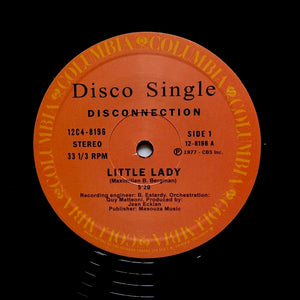 "DISCONNECTION ""Little Lady"" 1977 DISCO CLASSIC REISSUE 12"""