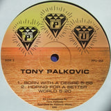 "TONY PALKOVIC ""Born With A Desire"" PPU-054 BALEARIC SYNTH FUNK 12"""