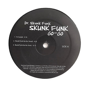 "DR. SKUNK FUNK ""Skunk Funk Go-Go"" RARE PRIVATE PRESS DC GO-GO FUNK RANDOM RAP 12"""