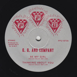"G.G. & COMPANY ""Thinking About You"" PPU-073 BOOGIE FUNK 12"""