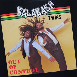 "KALABASH TWINS ""Out Of Control"" RARE COSMIC DISCO REGGAE BOOGIE LP"