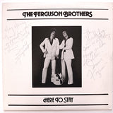 "THE FERGUSON BROTHERS ""Here To Stay"" PRIVATE PRESS AOR MODERN SOUL DISCO LP"