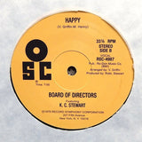 "BOARD OF DIRECTORS ""Hanging Tough"" PRIVATE DISCO SOUL REISSUE 12"""