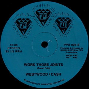 "WESTWOOD/CASH ""Psycho For Your Love"" PPU VOCODER BOOGIE FUNK 12"""