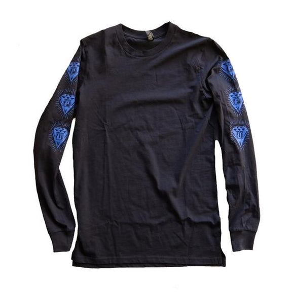 PPU LONG SLEEVE T-SHIRT - NAVY